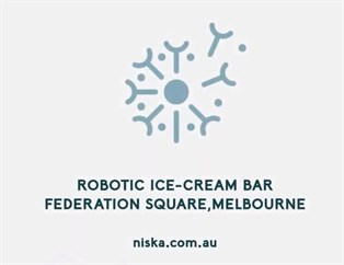 Ice Cream Robot NISKA 7
