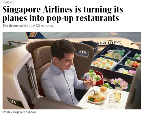 Singapore Airlines Pivot